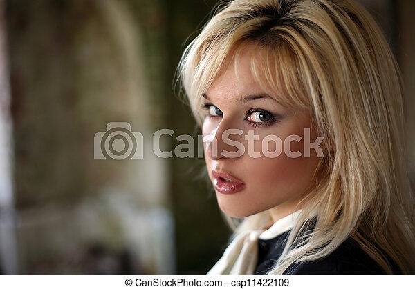 blonde - csp11422109