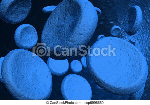 Blood cells - csp6996660