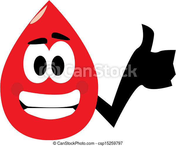 blood donation cartoon clip art of a blood drop showing stock rh canstockphoto com blood donation clipart graphics blood drive clipart