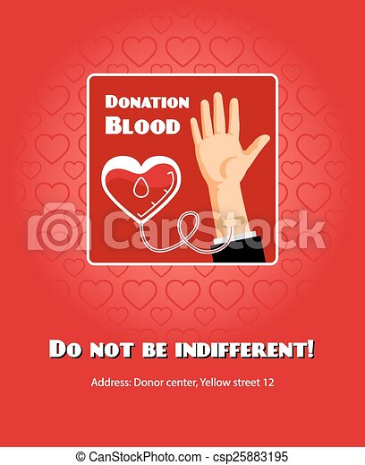 Blood donation poster humanitarian and life help and eps blood donation poster csp25883195 altavistaventures Image collections