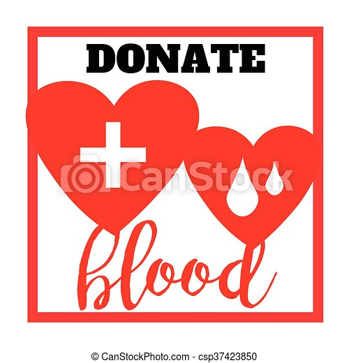 Blood donation symbol two hearts with cross and blood drops blood donation symbol two hearts with cross and blood drops connected creative emblem illustration isolated on white backgroundtemplate for poster thecheapjerseys Image collections