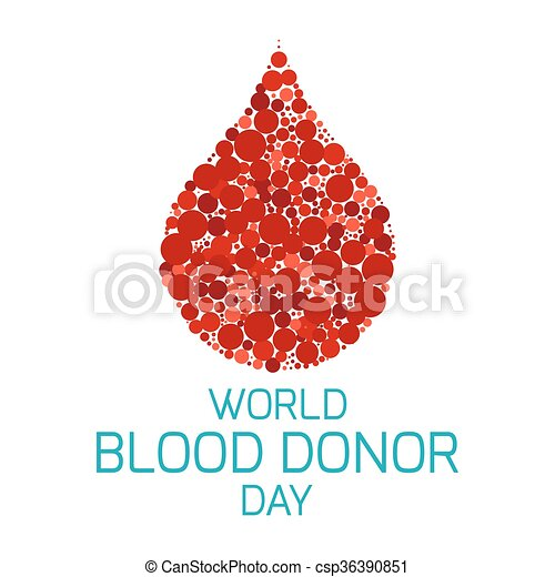 Blood donor day poster world blood donor day vector illustration blood donor day poster csp36390851 altavistaventures Image collections