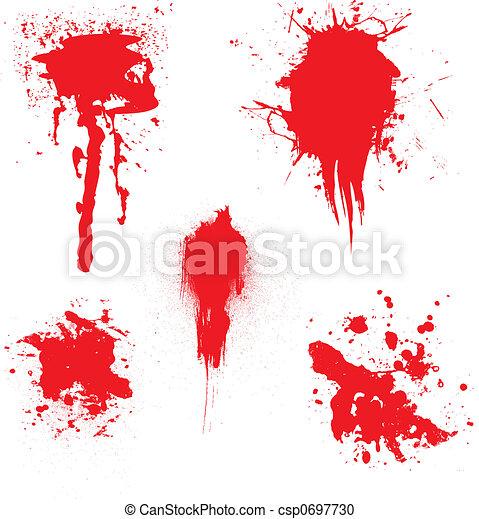 blood dribble - csp0697730