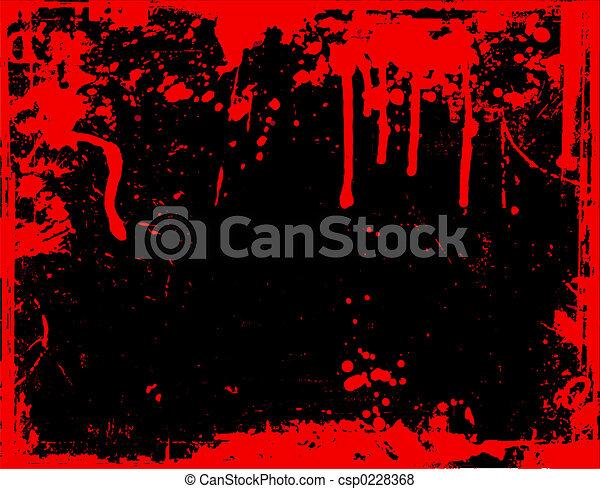 Blood drips  - csp0228368