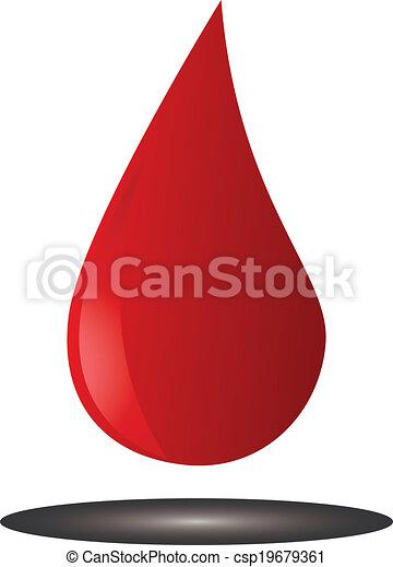 Blood drop - csp19679361