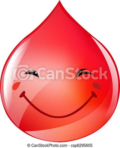 Blood Drop - csp6295605