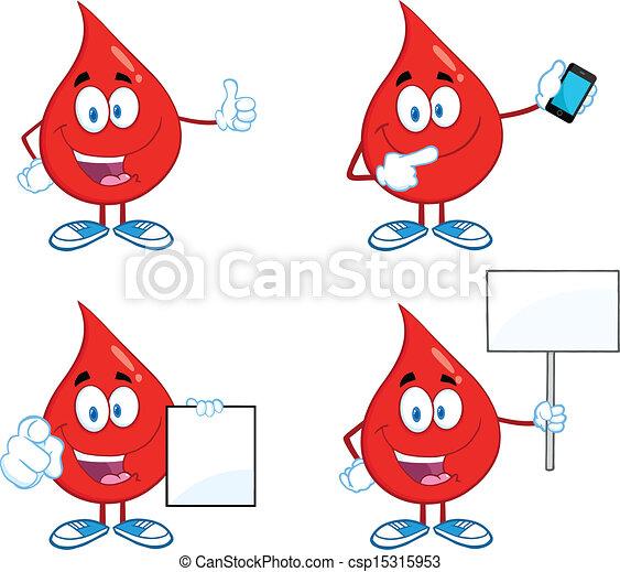Blood Drop Set Collection 5 - csp15315953