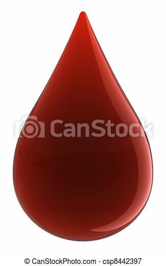 Blood Drop - csp8442397