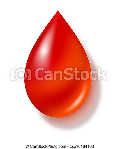 Blood Drop - csp10184163