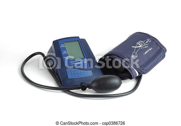 Electronic Blood Pressure Cuff >> Blood Pressure Cuff Isolated Image Of An Electronic Blood Pressure