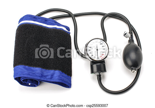 Blood pressure equipment isolated o - csp25593007