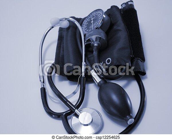 Blood Pressure Equipment - csp12254625