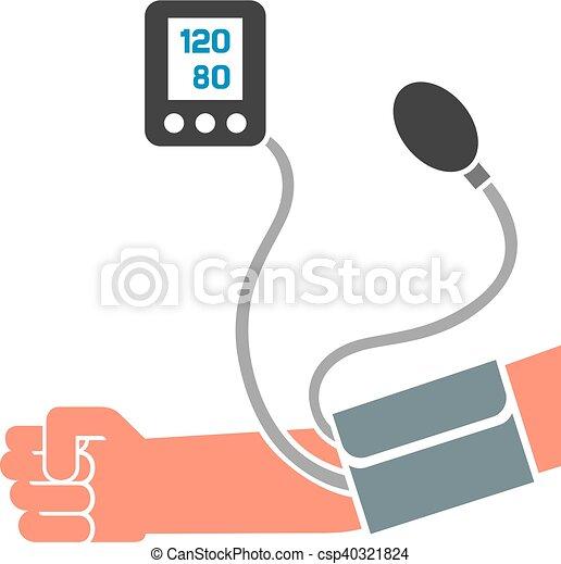 blood pressure measuring - csp40321824
