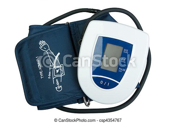 Blood Pressure Monitor - csp4354767