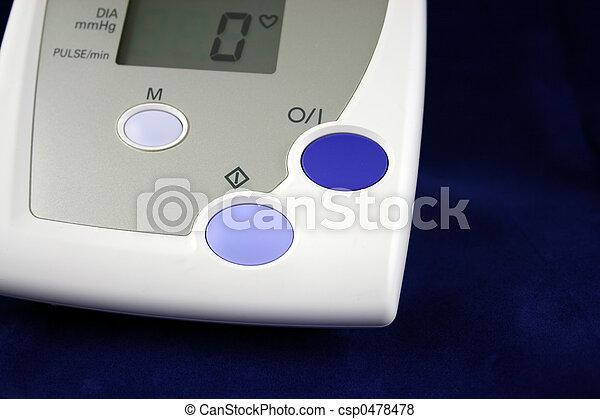 Blood Pressure Monitor - csp0478478