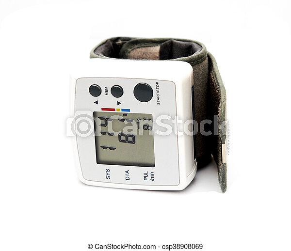 Blood pressure monitor - csp38908069