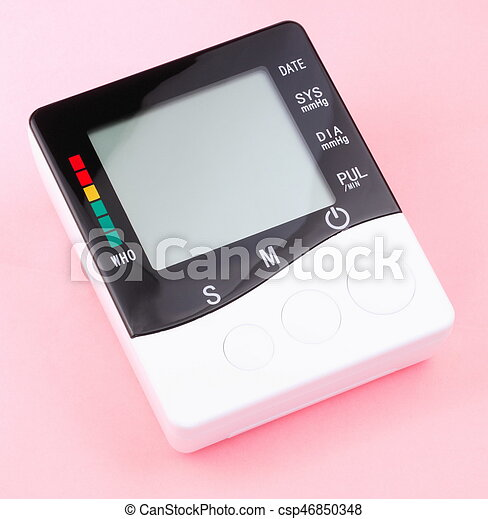 blood pressure monitor - csp46850348