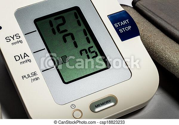 Blood Pressure Monitor - csp18823233