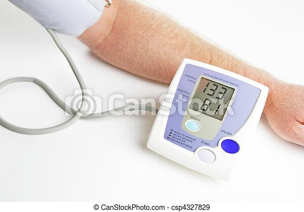 Blood pressure monitoring - csp4327829