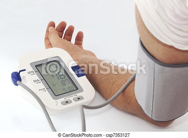 Blood pressure - csp7353127