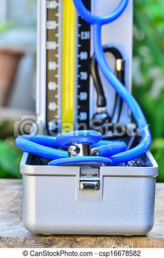 Blood pressure - csp16678582