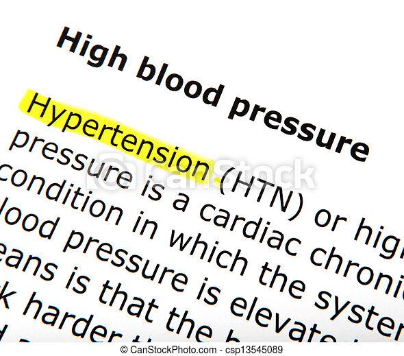blood pressure - csp13545089