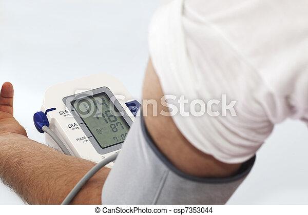 Blood pressure - csp7353044