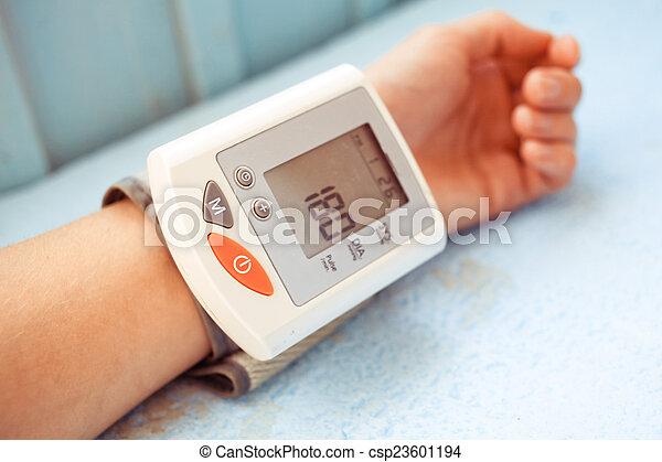 Blood pressure - csp23601194