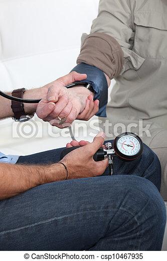 Blood pressure - csp10467935