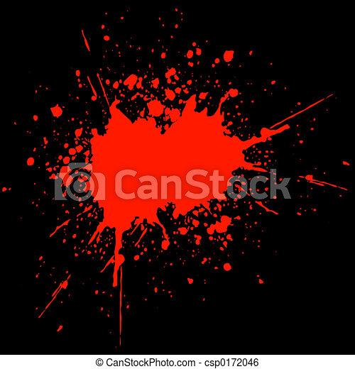 Blood splat - csp0172046