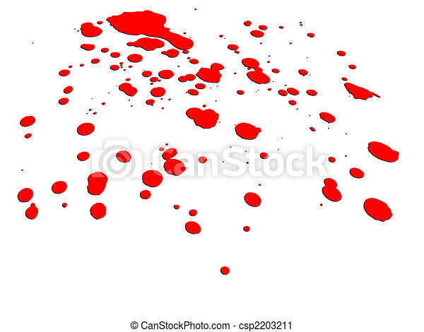 a blood splatter on white background would be good for clipart rh canstockphoto com Blood Splatter No Background blood splatter clip art with gray background