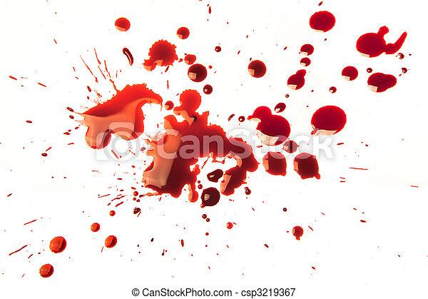 Blood stains - csp3219367