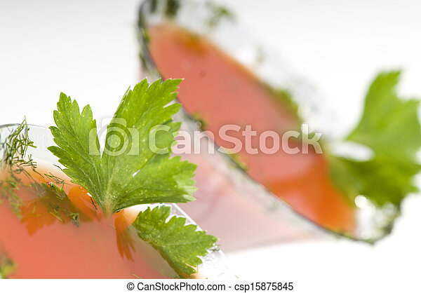 bloody Mary cocktail - csp15875845