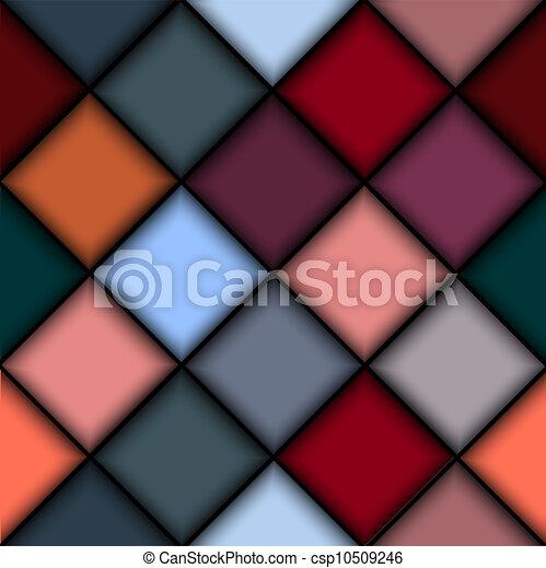 bloques, coloreado, estructura, 3d - csp10509246