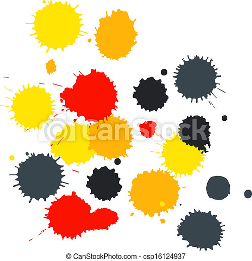 Blot background with copy space - csp16124937