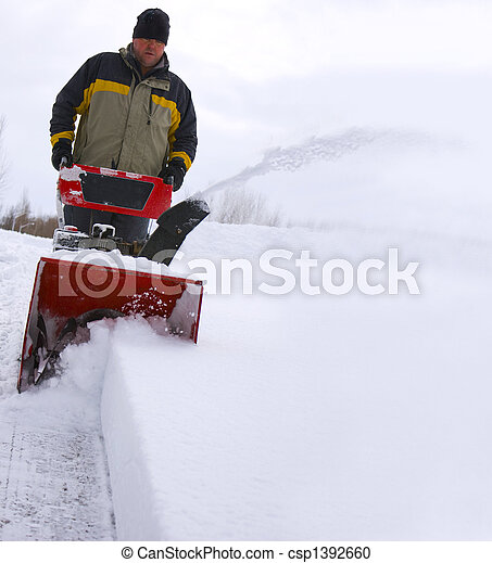 Blowing Snow - csp1392660