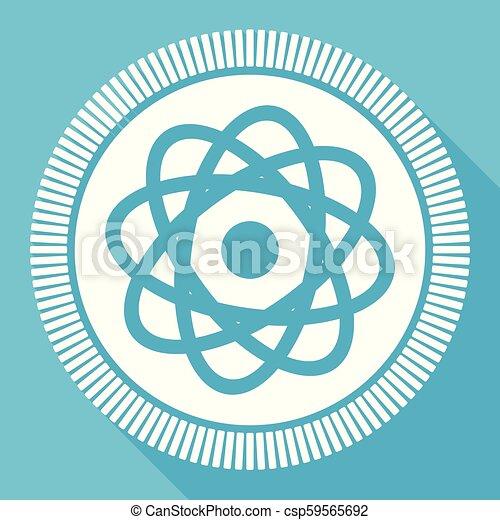blu, appartamento, smartphone, quadrato, web, editable, eps, vettore, bottone, domanda, computer, atomo, icona, segno, 10 - csp59565692
