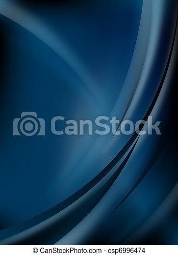 blu, astratto, fondo - csp6996474
