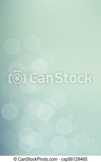 blu, bokeh, verde, jentle, fondo - csp56129465
