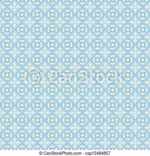 blu, carta da parati - csp15484857