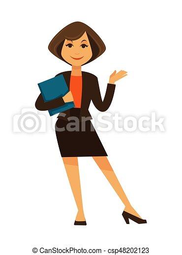 promo code a8e44 5798a blu, donna, ufficio, completo, cartella, cartone animato