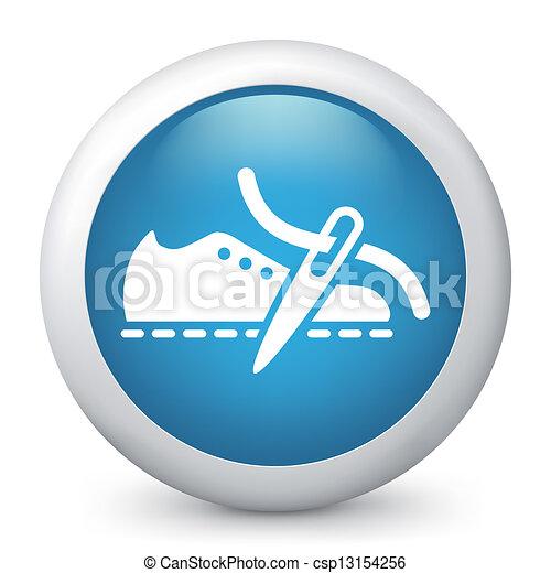 blu, icon., vettore, lucido - csp13154256