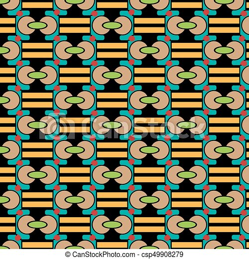 blu, marrone, astratto, struttura, forme, vettore, vario, sfondo giallo, nero, geometrico, rosso