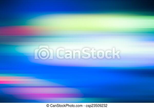 blu, movimento, astratto, fondo, offuscamento - csp23509232