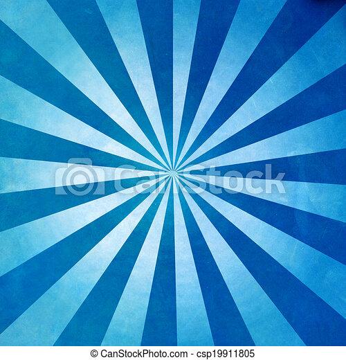 blu, raggi, fondo, struttura - csp19911805