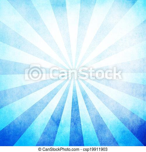 blu, raggi, fondo, struttura, vuoto - csp19911903
