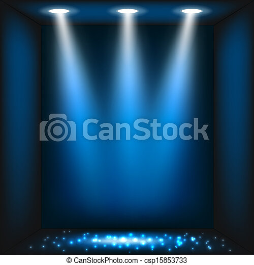 blu scuro, astratto, fondo - csp15853733