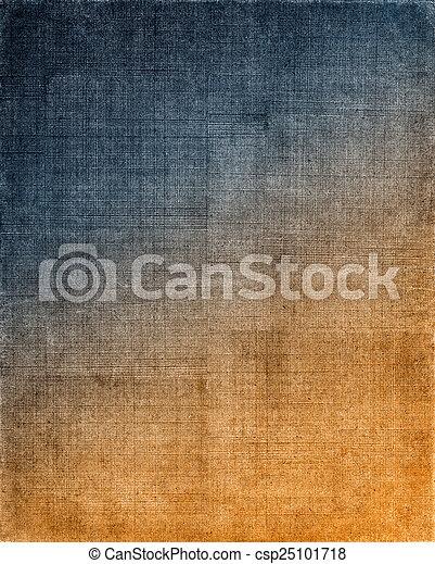 blu, stoffa, fondo, arancia - csp25101718