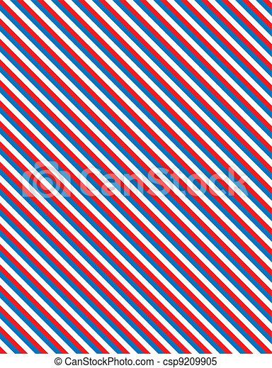 blu, stri, vettore, eps8, bianco rosso - csp9209905