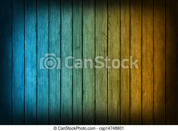 blu, struttura, legno, fondo, arancia, pannelli - csp14748601